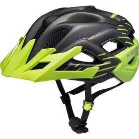KED Status Jr. casco per bici Bambino verde/nero